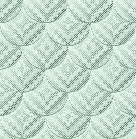 background with circle and square shapes, seamless pattern