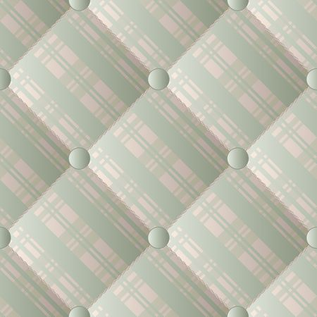 quilted textile, seamless pattern