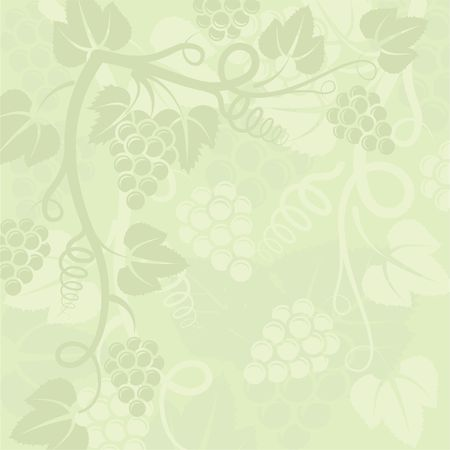 plant background with grapevine