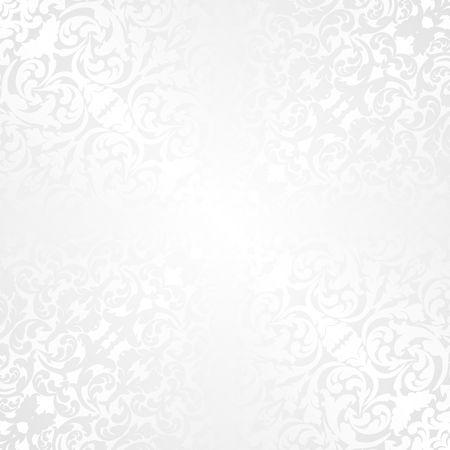 fond blanc avec motif à l'ancienne Vecteurs