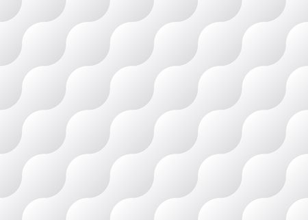 white wavy background, seamless pattern Illustration