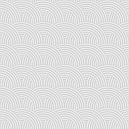 seamless pattern with round shapes