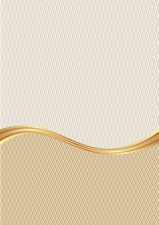 textured background divided into two with golden divider