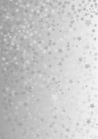 gray background with star shapes