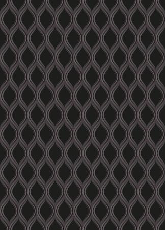black openwork background, seamless pattern