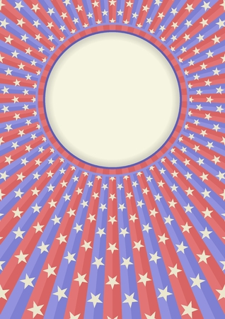 old-fashioned background with star pattern