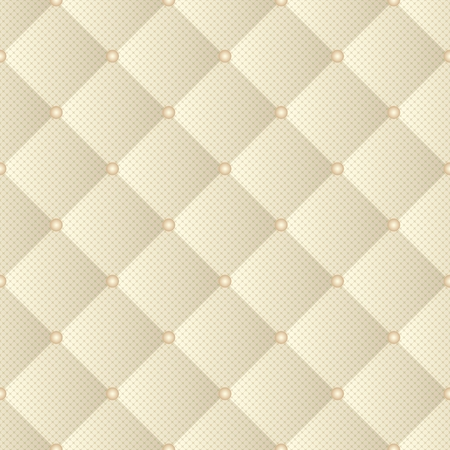 quilted fabric, seamless pattern Stock Illustratie