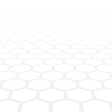 3D background with hexagonal shapes
