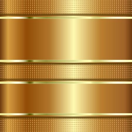 Goldener strukturierter Hintergrund mit Kopienraum. Metallische Textur.