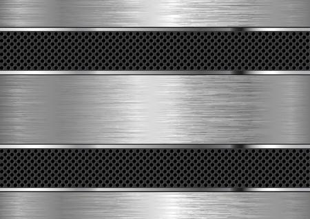 fond texturé métallique avec espace de copie