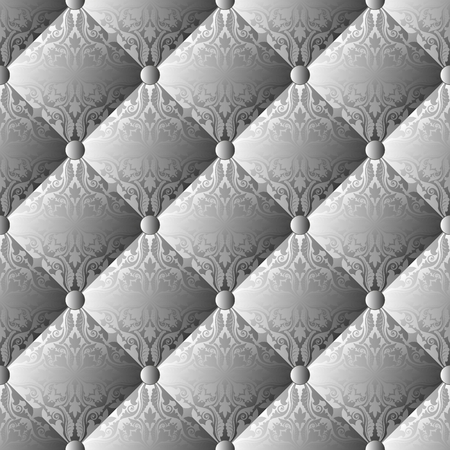 quilted knitwear, seamless pattern, decorative background