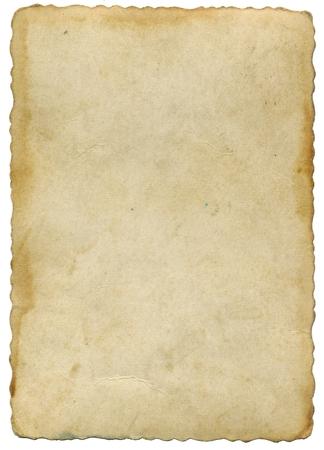 Stary pożółkły pergamin