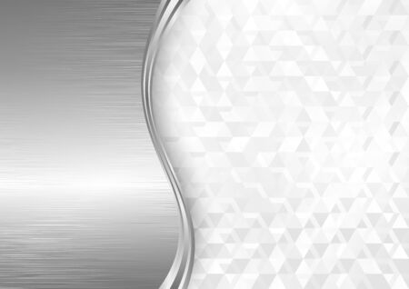 abstract geometric background and metal texture Reklamní fotografie - 132119163