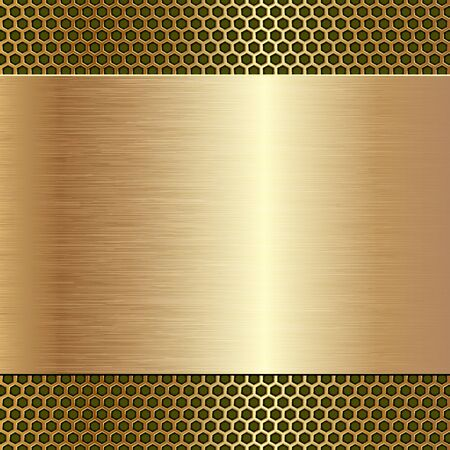 Metallic textured with copy space