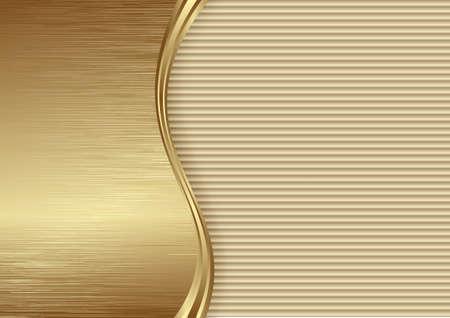 golden metallic textured 3D background