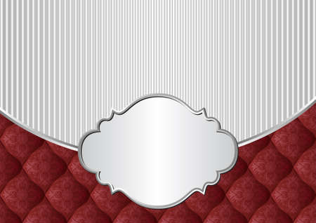 vintage background with decorative frame Иллюстрация