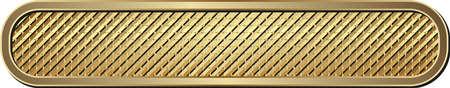 Long Golden Textured Metallic Banner