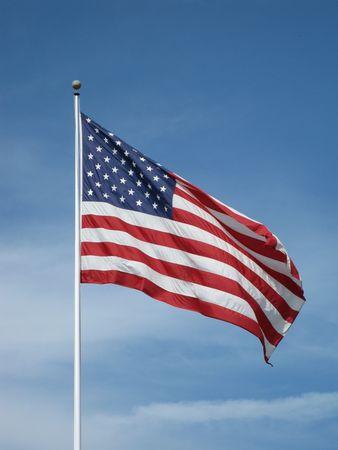 American Flag Archivio Fotografico
