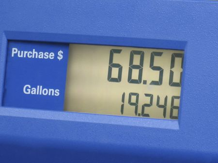 Cost of filling your tank