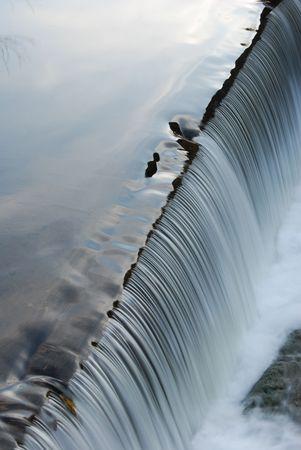 Verticale Waterfall Archivio Fotografico - 4713594