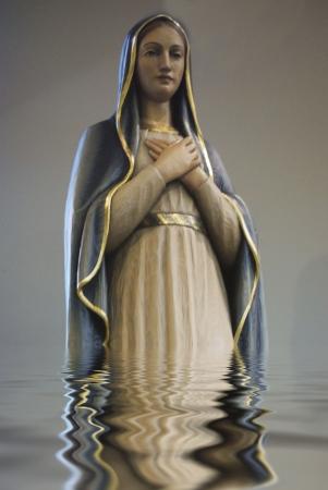 Saint Mary  Stock Photo