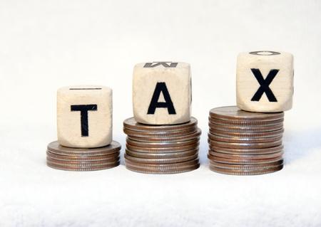 Tax salendo Archivio Fotografico - 17078694