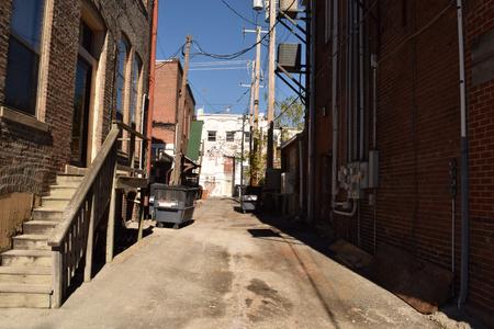 小さな道路の背景。 写真素材