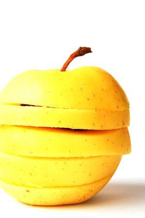 sliced apple: sliced apple 3