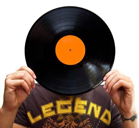Vinyl head Stock Photo - 5390464