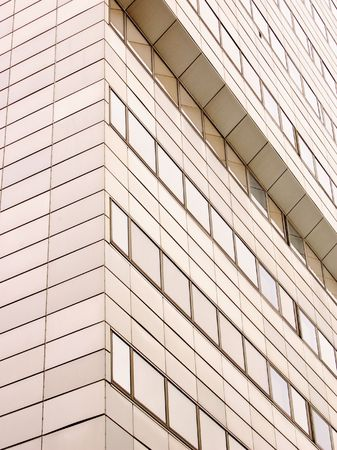 detail of a bussines building Stock Photo