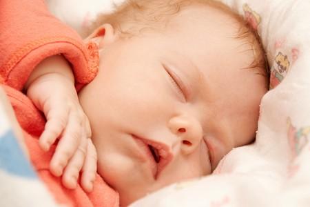 Newborn baby sleeping Stock Photo - 4426903