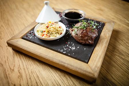 Filete de cordero de bistec