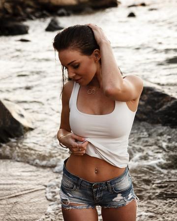 shirt and shorts Stock Photo