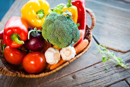 Different vegetables set
