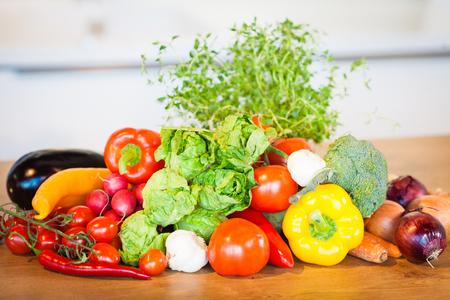 Different vegetables set Stock Photo - 98182593