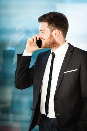 Young businessman in office Stock Photo - 101868389