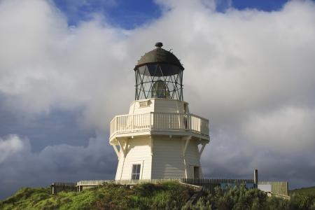 Lighthouse of Manukau Heads, Awhitu peninsula, Auckland New Zealand  photo