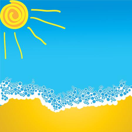 sea ,sun and beach