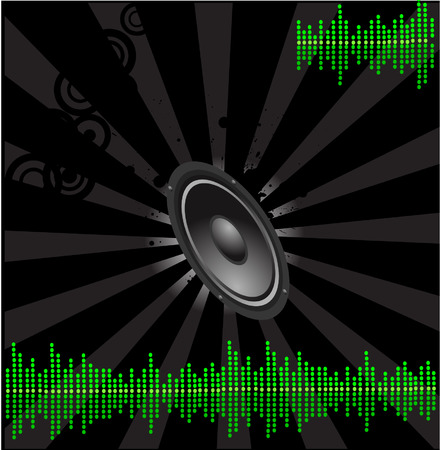 music design background Stock Vector - 2587618