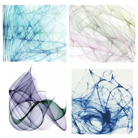 4 HQ large abstract backgrounds photo