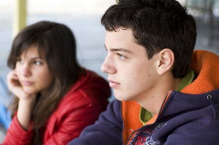 teen couple Stock Photo - 3479530