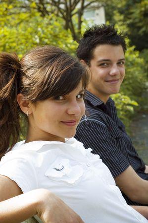 teen couple Stock Photo - 3573111