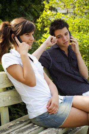 teen couple Stock Photo - 3573112