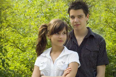 teen couple Stock Photo - 3573122