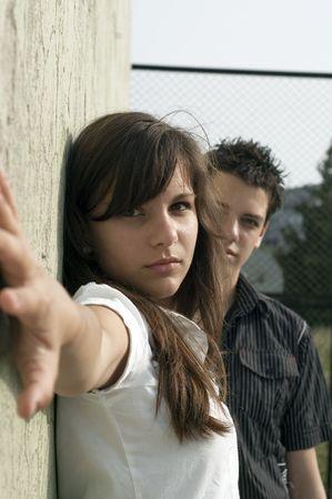 teen couple Stock Photo - 3573118