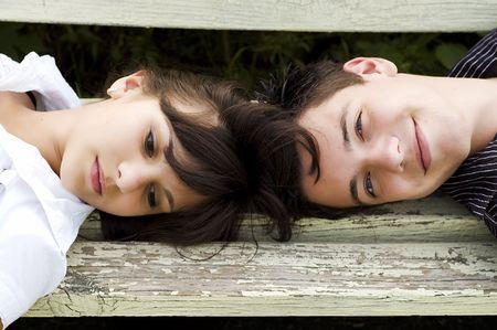 teenagers couple  Stock Photo - 3479498