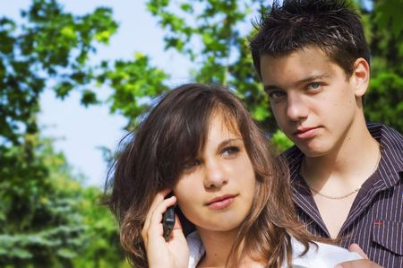 teenagers couple  Stock Photo - 3479499