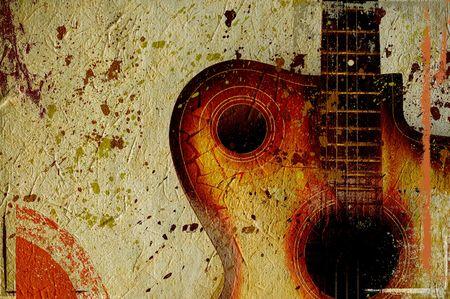 music grunge design Stock Photo - 3613361