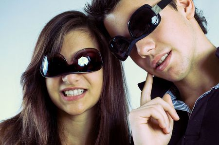 fashon: young couple