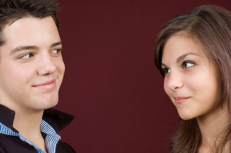 young couple Stock Photo - 3831859